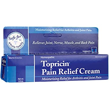 top best Topricin Pain Relief Therapy Cream