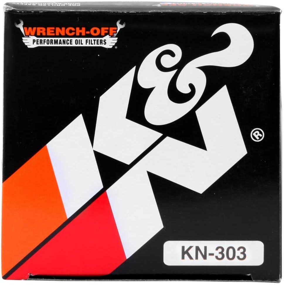 /Ölfilter K/&N KN303 f/ür Kawasaki Z 800 A