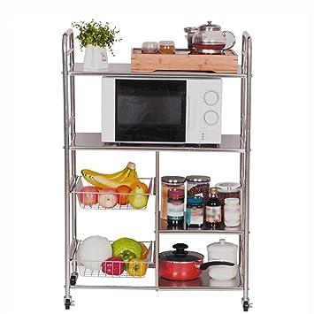 Estantes y soportes para ollas y sartenes HWF Multi-Layers Kitchen Metal Rack 4 Tier
