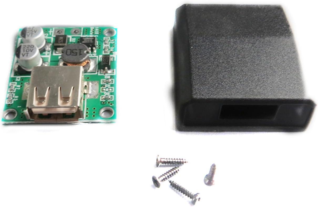 DC 6V-20V 12V 18V to 5V 2A USB Charger Regulator Solar Panel Fold Bag Cell Phone