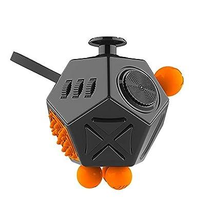fff98a5872c63 Amazon.com: Pathos - Fidget Cube 12 Sides Anti-anxiety and ...