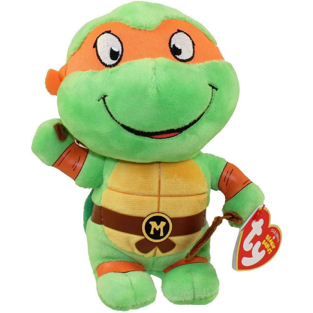 Amazon.com: TY Teenage Mutant Ninja Turtles (Set de 4): Toys ...