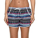ATTRACO Womens Floral Boardshort Print Beach Shorts Quick Dry Swim Trunks XXXL