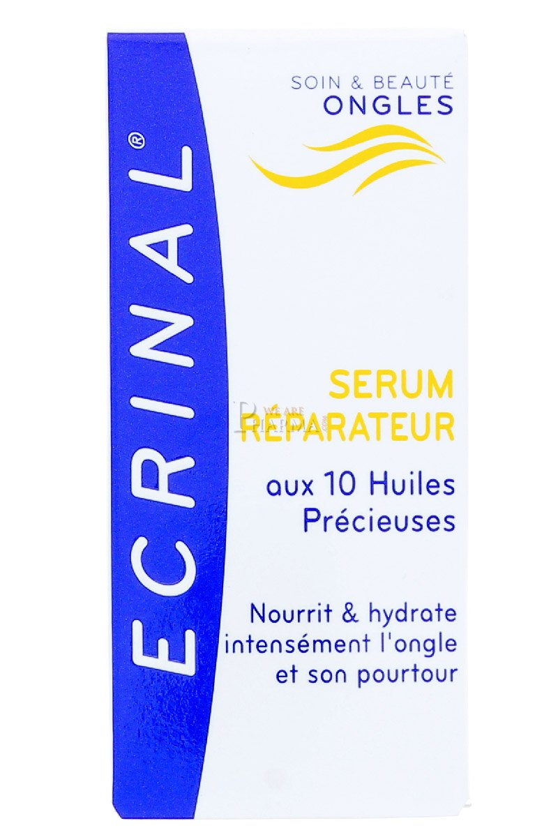 Ecrinal Repair Serum with 10 Precious Oils for Nails, 0.34 Fluid Ounce by Ecrinal