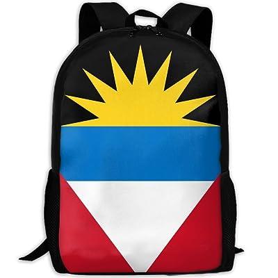 Kuswaq Antigua And Barbuda Unisex Trendy Hiking Gym Bag Daypack Travel Shoulder Bag