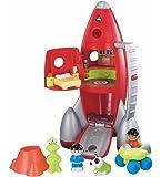 ロケット おもちゃ 宇宙船 スペースシップ 音が鳴る ELC サウンド付 赤い打ち上げロケット