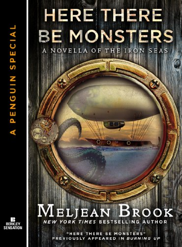 Image result for here there be monsters meljean brook book cover