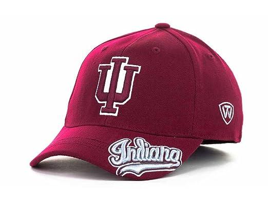 buy online 81918 aa914 Indiana Hoosiers Men s Top of the World NCAA All Access Flex Fit Hat Cap  (One