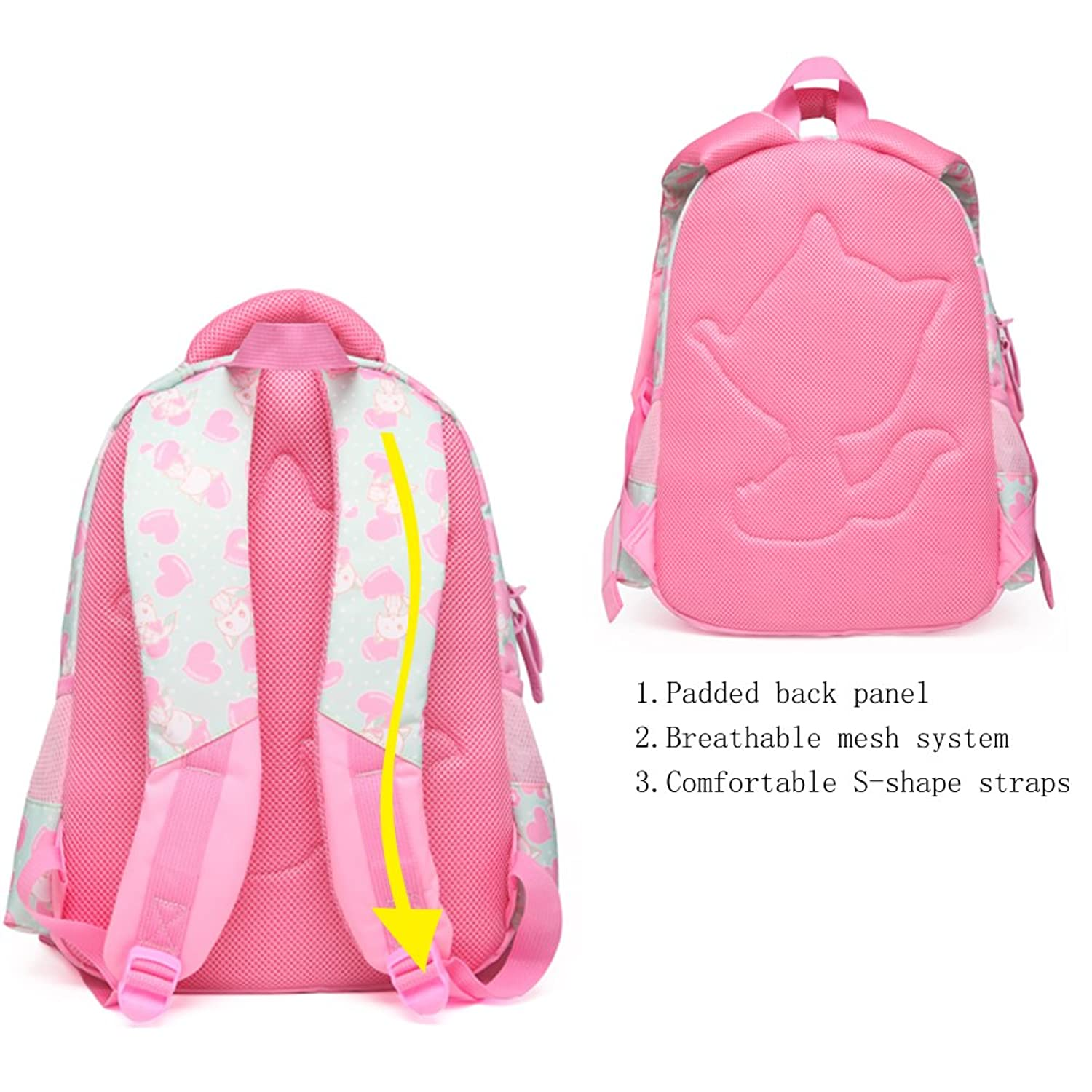 d91267207a Cute Girl Mesh Backpacks- Fenix Toulouse Handball