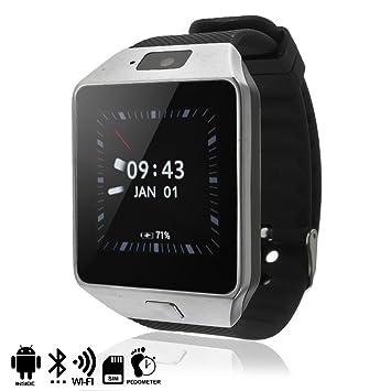 DAM - SMARTWATCH PHONE AK-QW09 CON ANDROID 4,4 3G/WIFI/Android Plata, alarma, reproductor de video, calendario, calculadora, grabación de voz, email, ...
