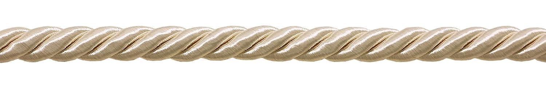 3/8Grande marfil color decorativo Cable, Basic Trim colección, estilo # 0038NL color: marfil/color crudo–A2, se vende por el patio DecoPro