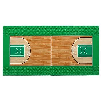 Feleph la Placa Base de la Cancha de Baloncesto Juega con Bloques ...