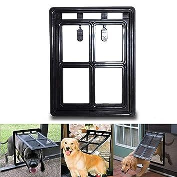 WYYZSS Puerta de Pantalla para Mascotas,Puerta de Perro para ...
