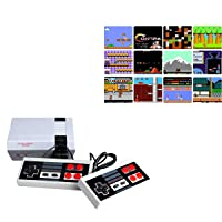 Oriflame 620 Retro Classic Video Game Console AV Output Mini NES Console 620 in 1 Built-in Plug and Play Video Games with 2 Controllers Handheld Games for Kids & Adults (Small)