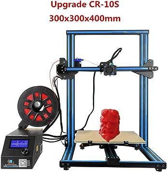 Creality - Impresora 3D CR-10S azul de doble filamento con eje Z ...