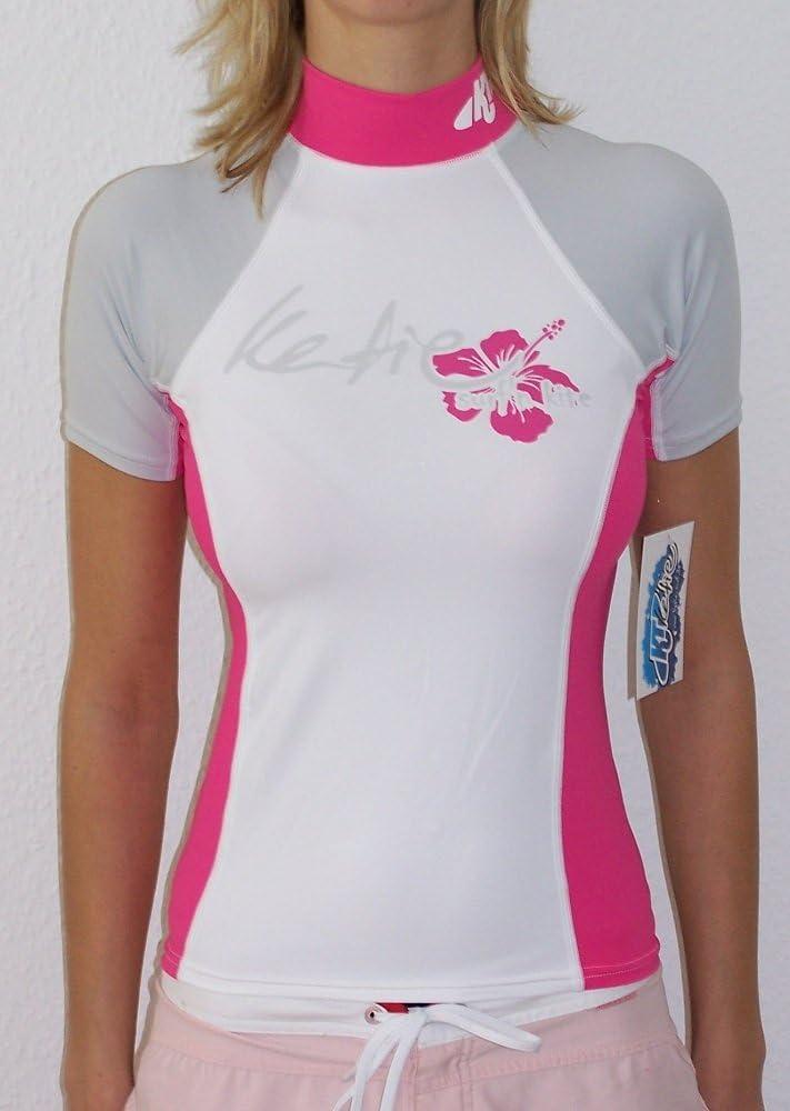 Sonnenschutz Katie surf/´n kite Rashguard Spandex UV-Shirt Damen Kurzarm UPF 50