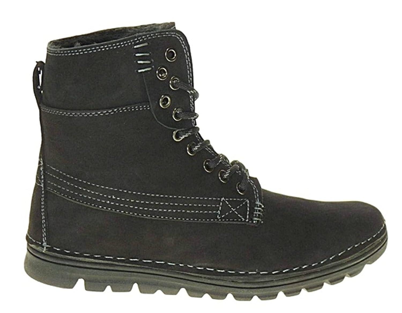 art 964 Echt LEDER Winterstiefel Winterschuhe Stiefel Boots Herrenstiefel  Herren: Amazon.de: Schuhe & Handtaschen