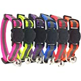 (3-Pack) - Reflective Cat Collar with Bell, Set of 3 OR 6, Solid & Safe, Nylon, Mixed Colours, Pet Collar, Breakaway Cat…