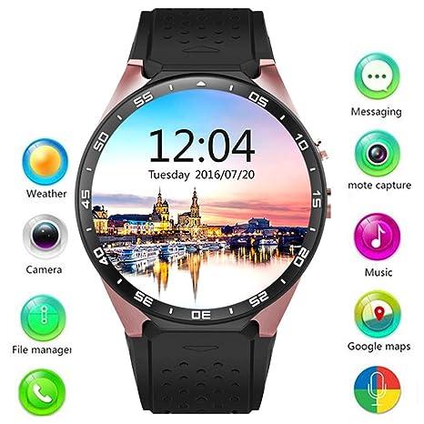 RENYAYA 3G WiFi Android 5,1 SmartWatch-Todo-en-uno Bluetooth ...