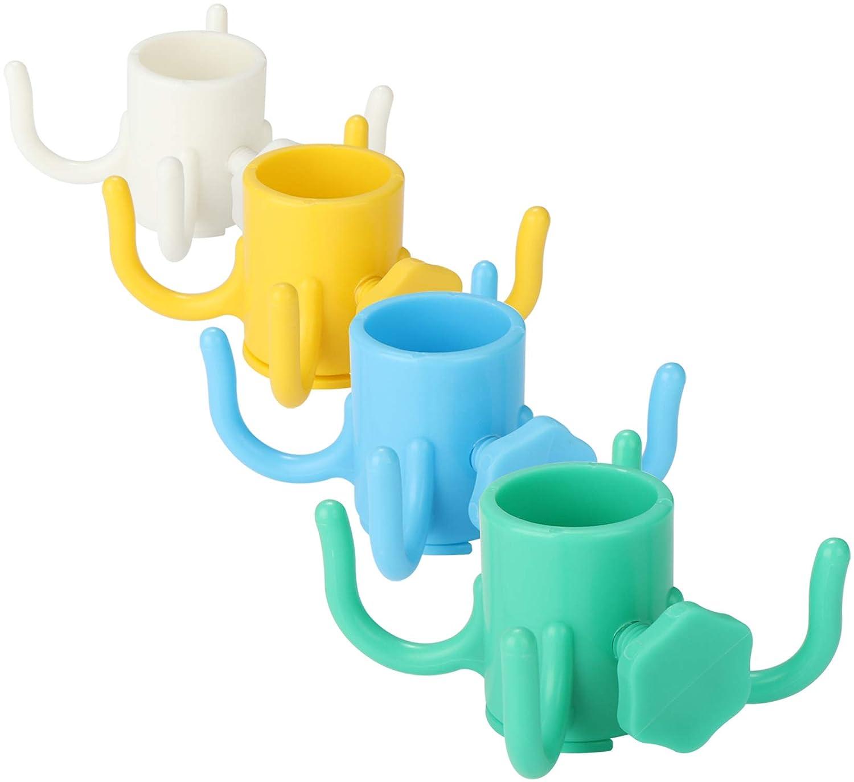 Il Colore Varia per Pali Fino a 20-35 mm Sabbia portaombrelli o Tassello rettificato per ombrelloni in Spiaggia com-four/® 2X Portaombrelli in Diversi Colori 02 Pezzi - portaombrelli