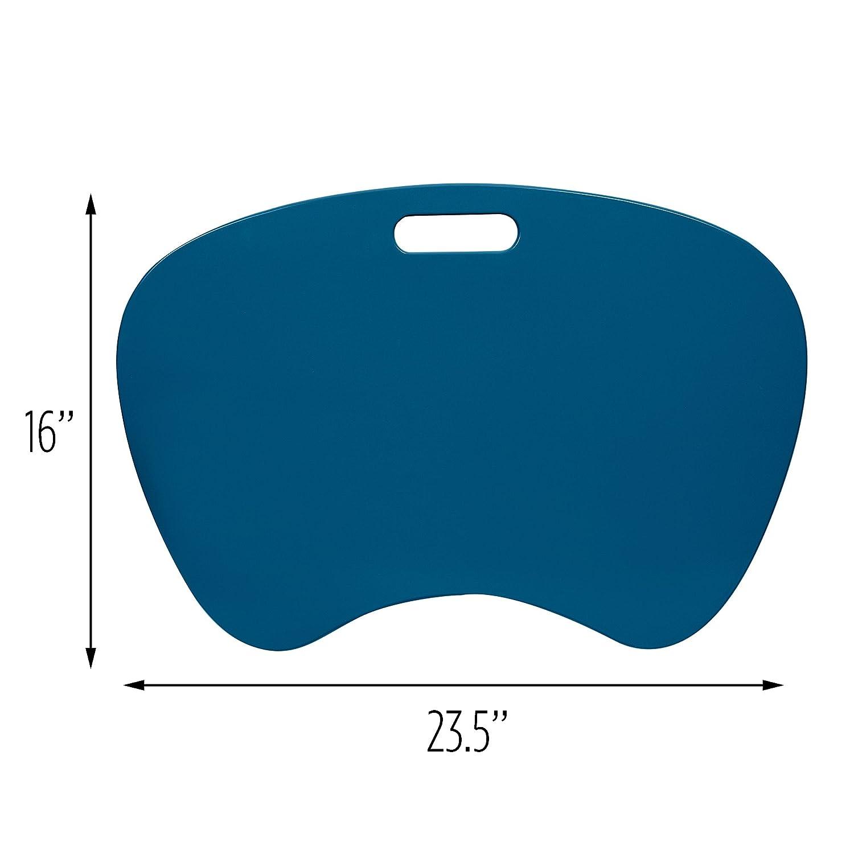 23 L x 16 W x 2.5 H Honey-Can-Do TBL-02869 Portable Laptop Lap Desk with Handle Black