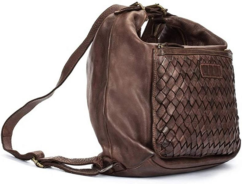 d6c4743a8b Hobo WHA-611 Women Leather Backpack   Shoulder Bag Brown. Back. Double-tap  to zoom