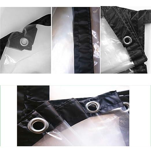 Transparente Wasserdichte Abdeckplane Mit Ose Regenschutz Tuch Fur