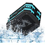 Mpow wireless Bluetooth Speaker,Outdoor Waterproof Shower Speakers with Emergency Power Supply