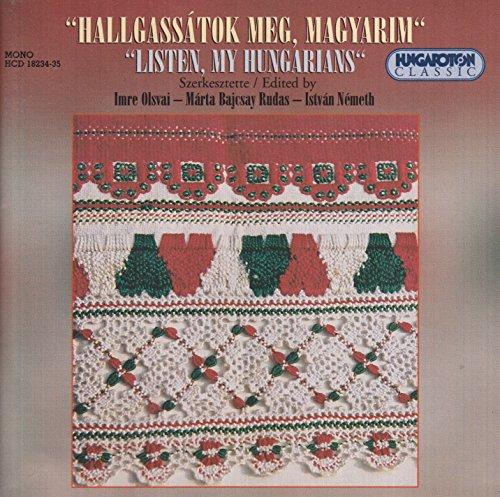 Listen My Hungarians - A Survey of Hungarian Folk Music (My Survey)