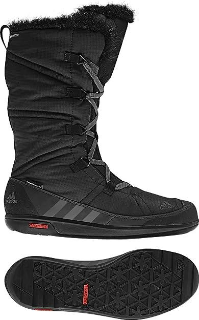65851fd323e90 adidas V22160 Women's Solid Grey/Black/Grey Rock Choleah Laceup Cp Pl Boot,  5/ UK:SIZE 3: Amazon.co.uk: Shoes & Bags