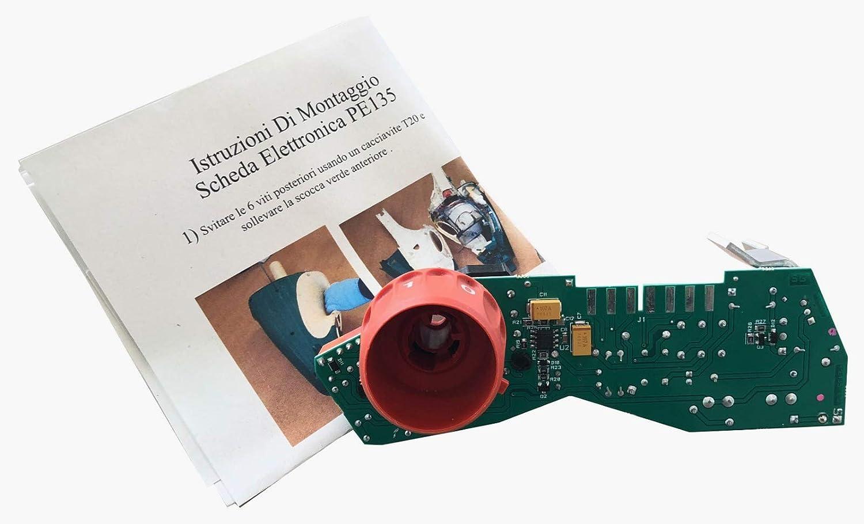 Tarjeta electrónica Made in Italy compatible para aspiradora ...