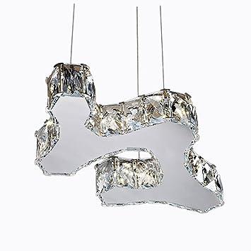 Schon YJH Led Crystal Kronleuchter, Creative Unregelmäßiges Restaurant Wohnzimmer Tisch  Kronleuchter Hotel K9 Kristall Hochzeit Zimmer