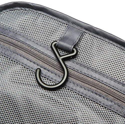 オックスフォードポータブルジッパー吊り旅行バッグ屋外容量トイレタリー収納ケース YZUEYT