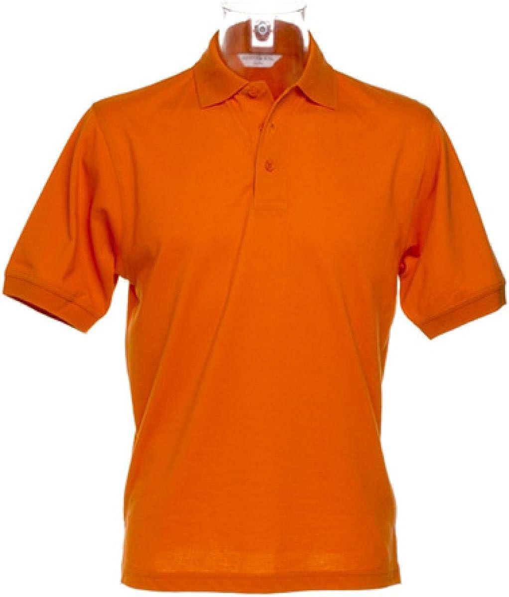 Adult Top Kustom Kit Men/'s Slim Fit Short Sleeved Superwash® Polo Shirt