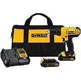 DEWALT 20V MAX Cordless Drill / Driver Kit,...