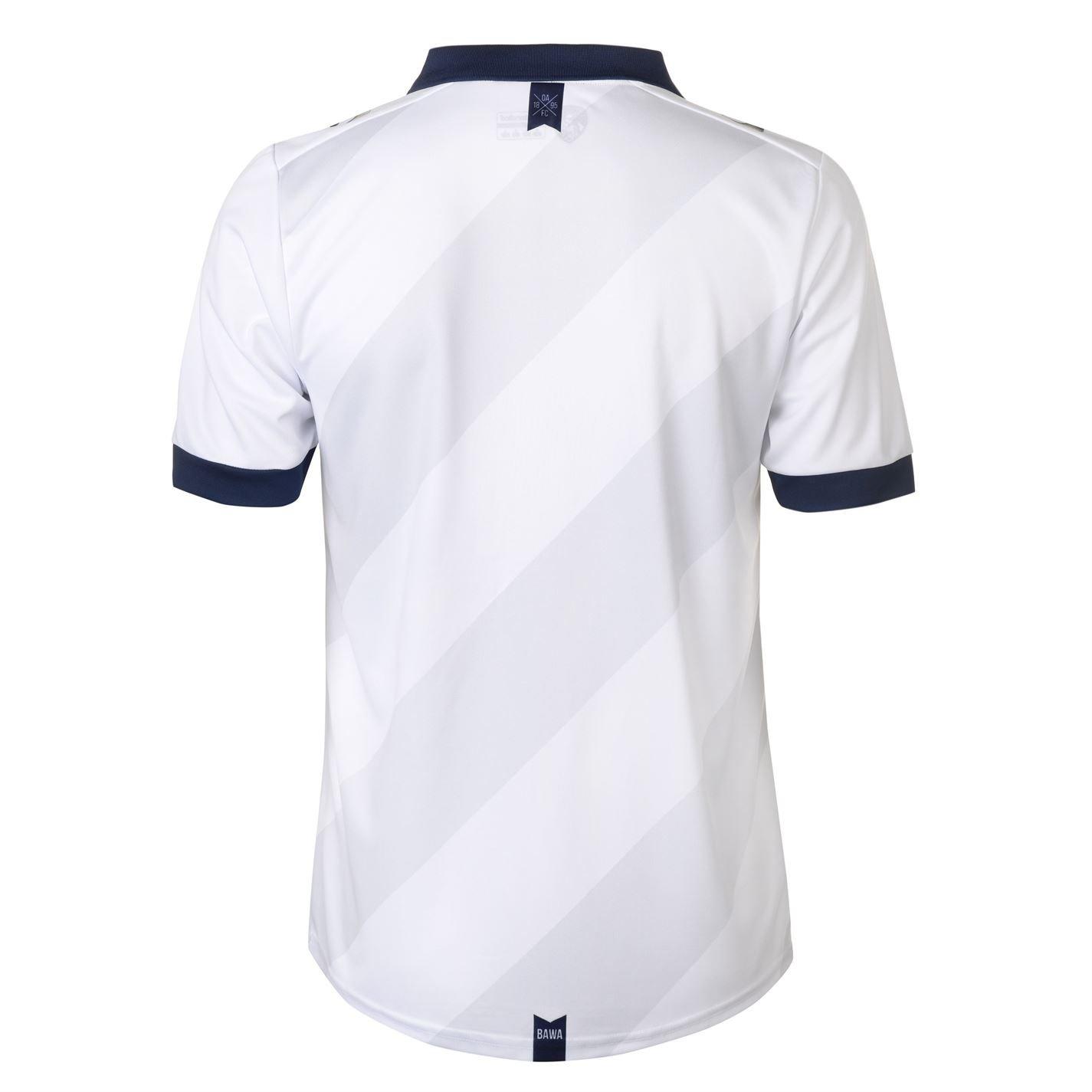 Sondico Hombre Oldham Athletic Away Camiseta 2018 2019 Blanco/Azul Marino M: Amazon.es: Ropa y accesorios