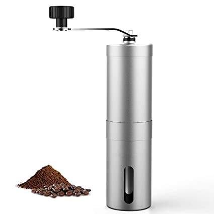 Amazon Com Manual Coffee Grinder Adjustable Ceramic Core Best Burr
