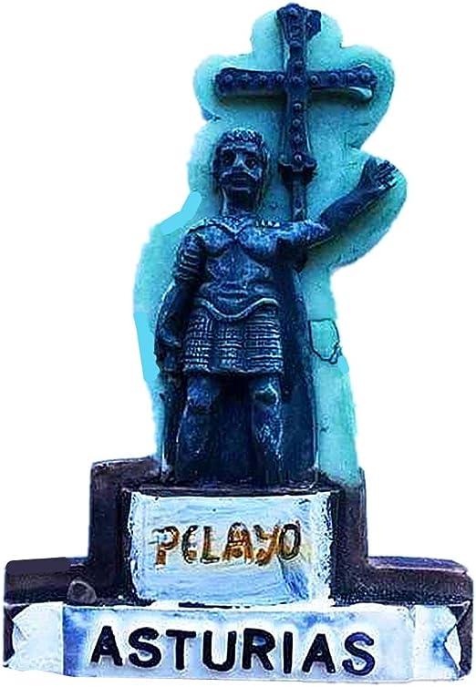 Hqiyaols Souvenir Pirayo Estatua Asturias España Refrigerador 3D ...