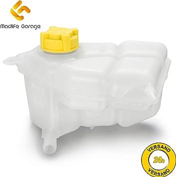 Madlife Garage 1221362 Ausgleichbehälter Kühlmittel Kühlmittelbehälter Mit Deckel Fiesta V Jh Auto