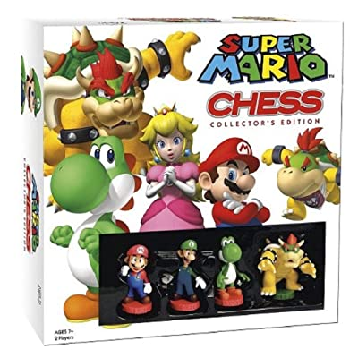 USAOPOLY Super Mario Chess Collectors Edition: Toys & Games
