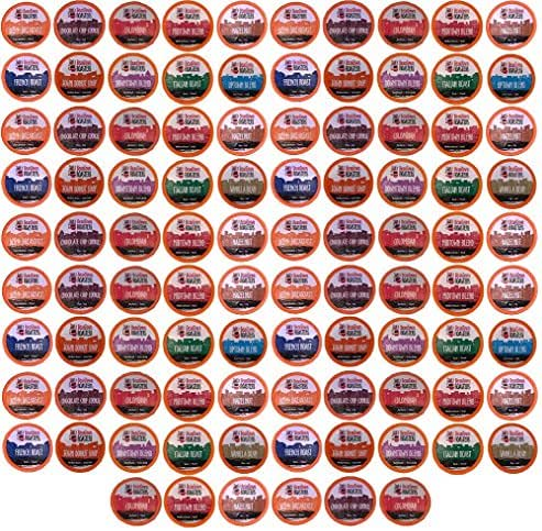 Beantown Roasters K-Cup Variety Pack made up of 11 Artisan Coffees