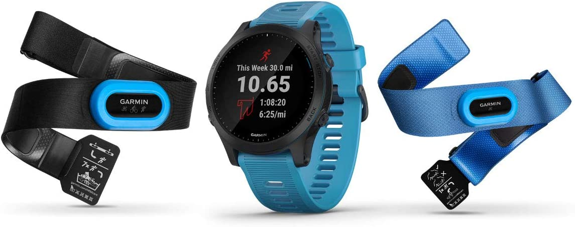 Garmin Forerunner 945 - Reloj deportivo con GPS y Wi-Fi