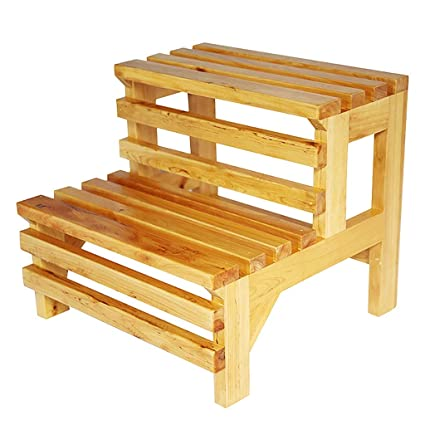 Excellent Amazon Com Zcctd Step Stool Bathroom Stool Solid Wood Alphanode Cool Chair Designs And Ideas Alphanodeonline