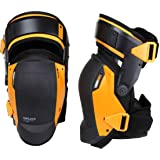 ToughBuilt GelFit Fanatic - Thigh Support Stabilization Professional Knee Pads - Comfortable Gel Cushion & Heavy Duty Foam Pa