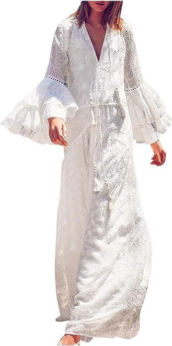 Shenye damska sukienka odświętna, modna, seksowne wycięcie w kształcie litery V, koronka, siateczka ze ściągaczem, kwiaty, szyfon, długa sukienka, jednokolorowa sukienka w kształcie li&