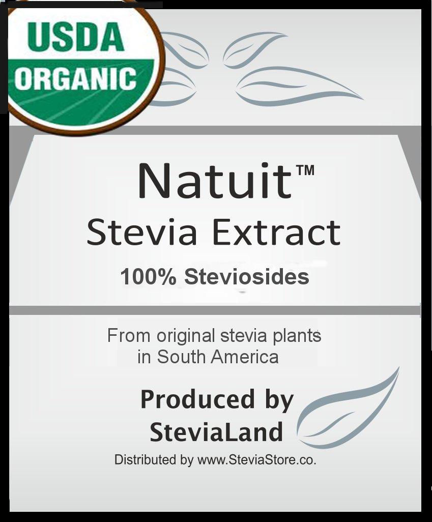 2 Lb (950 gr) 23,000 serv - Stevia Extract # FREE SHIPPING # 100% ORGANIC Stevioside | Stevia seeds
