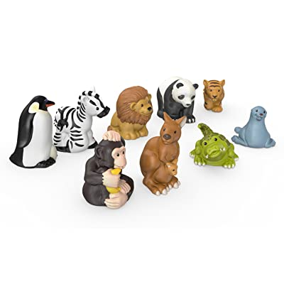 Fisher-Price Little People Zoo Animal Friends: Toys & Games [5Bkhe1202607]