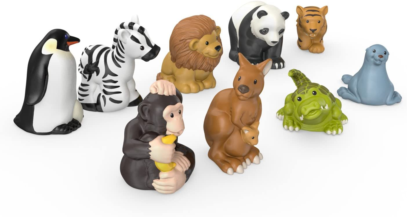 Amazon Com Fisher Price Little People Zoo Animal Friends Toys Games