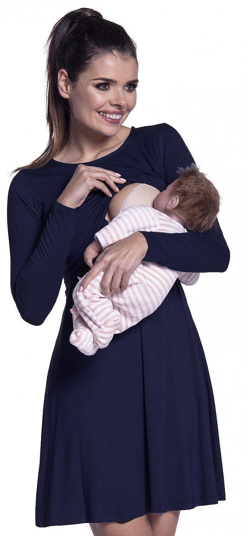 Zeta Ville - Stillen A-Linie Kleid Schwangere Schwangere Schwangere Rundhalsausschnitt - Damen - 128c B077YR5QBN Freizeit Moderne Technologie 206229