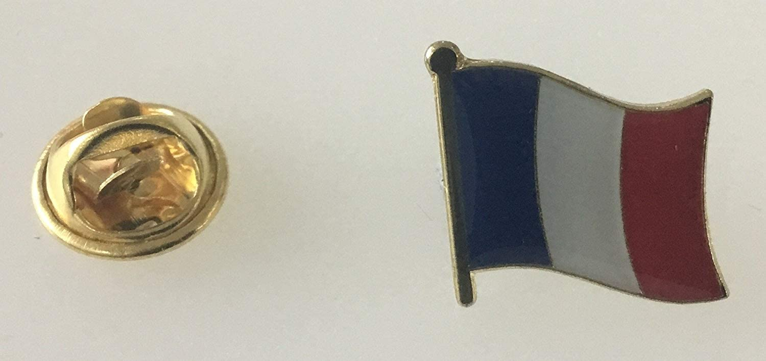 MadAboutFlags Button//Badge Drapeau France Brittany